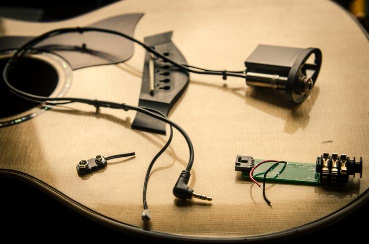 Amplificare uno strumento acustico